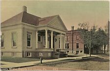 Corry Water Supply Company in Corry PA Postcard 1910