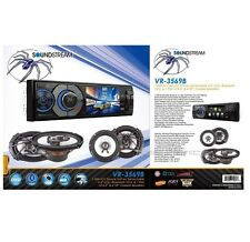 "SOUNDSTREAM VR-345B 3.4"" DVD CD BLUETOOTH PLAYER + PAIR OF 6.5"" & 6X9"" SPEAKERS"