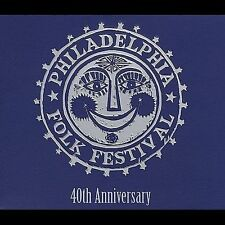 Philadelphia Folk Festival 4x CD box set 40th Anniversary john prine odetta