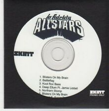 (BI864) Lo Fidelity Allstars, album sampler - DJ CD