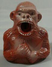 Vintage Plastic Gorilla Ape Pencil Sharpener