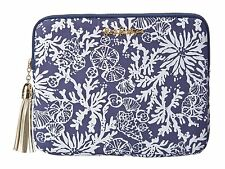 LILLY PULITZER TECH CLUTCH NWT BRIGHT NAVY IN THE GROOVE PURSE/CLUTCH/TABLET