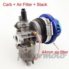 Carburetor Carb Air Filter Stack For 47cc 49cc Go Kart ATV Mini Dirt Pocket Bike