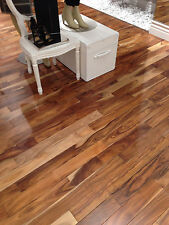 Acacia Asian Walnut  Solid Prefinished Hardwood Wood Flooring Floor Sample