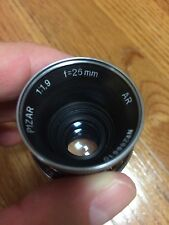 Kern-Paillard Switzerland Pizar 26mm f/1.9 C mount lens for Bolex Bell Howell
