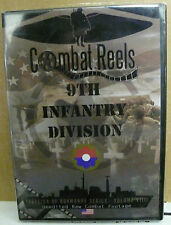 COMBAT REELS DVD 9TH INFANTRY DIVISION INVASION OF NORMANDY COMBAT FOOTAGE NEW