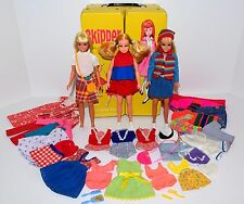 Vintage & Contemporary Skipper Dolls, Case, Clothing, Shoes, Purses Mixed Lot #3