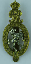 British Army Remount Service WWI cap badge re-strike