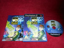 BEN 10 ALIEN FORCE ORIGINAL BLACK LABEL SONY PLAYSTATION 2 PS2 PAL VGC