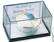 Reutter Porcelain Peter Rabbit 1st Tooth & Curl Box  NEW Baby Gift   27084