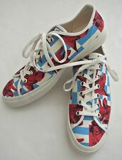 COMME DES GARCONS x Andy Warhol printed Sneakers NIB sz 25.5 mens 7.5 8 cow