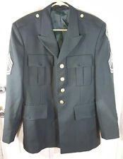 US ARMY Enlisted Dress Jacket w/ Patches - Sgt First Class - Intelligence Centre