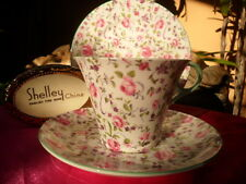 "Shelley  BRIAR ROSE CHINTZ  ""REGENT  SHAPE""   CUP & SAUCER ONLY - SOLD PLATE!"