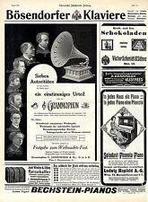DeutscheGrammophon-Bechstein-Hupfeld-Bösendorfer (Mostra natalizia) c.1911