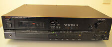 Luxman K-105 Audiophile Cassette Deck with DBX Auto Reverse Made in Japan 1980s