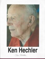 Kenneth Hechler, Political Leader, Signed Photo, COA, UACC RD 036