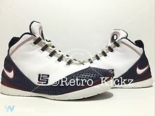 318694 111 Nike Zoom Lebron Soldier II 2 Playoff Lebron James Cavaliers Size 8