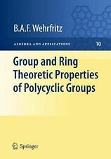 Algebra and Applications Ser.: Group and Ring Theoretic Properties of...