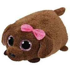"Ty Teeny Tys 4"" Maggie the Brown Poodle Plush"