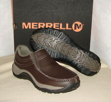 MERRELL REFLEX MOC LEATHER Slip-on Shoes   Men's 10  NIB