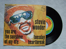 "STEVIE WONDER""YOU ARE THE SUNSHINE MY LIFE -45 giri TAMLA MOTOWN, ITALY, 1973"""