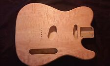 Guitar body fits Telecaster style neck pickup Quilted Maple top