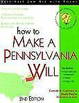 How to Make a Pennsylvania Will by Mark Warda, Gerald Gaetano and Gerald S....