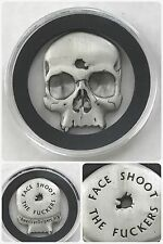 "AMERICAN SNIPER Punisher Skull ""Shoot the F"" Challenge Kill Coin Encapsulated"