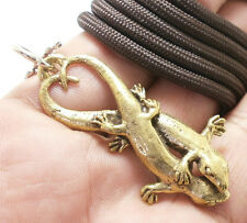 THAI AMULET LOVE SEX APPEAL DUO GECKO PENDANT ATTRACTION NECKLACE THAILAND GIFT