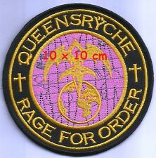 Queensryche - Rage for order patch - FREE SHIPPING