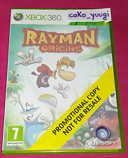 RAYMAN ORIGINS XBOX 360 PROMOTIONAL COPY NOT FOR RESALE TRES BON ETAT