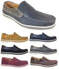 New Men Brixton Boat Shoes Driving Mocs Casual Moccasins Slip On Loafers Dacio02