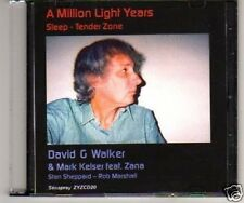 (F505) David G Walker, A Million Light Years - DJ CD