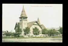 1908 Postcard Congregational Church Wadena MN   A9841