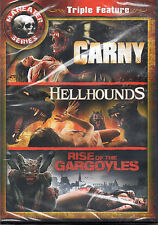 Maneater Series: Carny/Hell Hounds/Rise of the Gargoyles (DVD, 2013) New