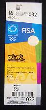 Orig.Ticket   Olympische Spiele ATHEN 2004  -  RUDERN 16.08.  !!  SEHR SELTEN