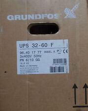 Grundfos UPS 32-60 F Pump Model A 400V 96401777