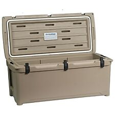 Engel Deep Blue 123Qt 123 Quart Tan DeepBlue Ice Chest Cooler - ENG123T