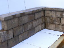 Bradstone Landscape Walling stone and Coping in Autumn Chestnut  Easy to lay .