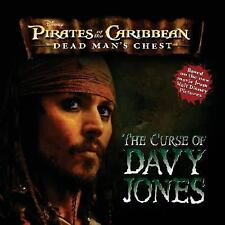 The Pirates of the Caribbean Dead Man's Chest  Curse of Davy Jones (Books) New