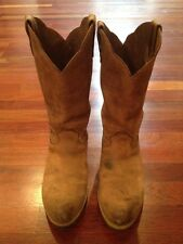 Georgia Boot Carbo-Tec Farm Ranch Pull On Men's Boots Size 8.5 M Comfort Core