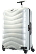 "New WHITE Samsonite Black Label Firelite 81cm/30"" Spinner Luggage Curv 4-wheel"