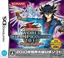 Used DS Yu-Gi-Oh! 5D's World Championship 2010 NINTENDO JAPANESE IMPORT