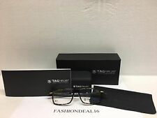 New Tag Heuer Authentic Reflex Black/Tortoise TH3951 006 Eyeglasses