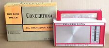Vintage Concertona S75 Transistor Radio - Small MW/LW Radio Made By 'Internet'