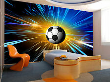 Football. Space Abstract Wall Mural Photo Wallpaper GIANT WALL DECOR ,FREE GLUE