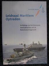 Koninklijke Marine Book Leidraad Maritiem Optreden (Nederlands)