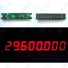 RF Singal Frequency Counter Cymometer Tester Meter 0.1-60MHz 20MHz to 2.4GHz LED