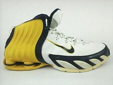 05 NIKE ZOOM SHOX Lethal TB Basketball Hi top Yellow White Shoes US 11 EU 44