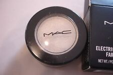 MAC ELECTRIC COOL EYE SHADOW-FLAWLESS FROST FINISH CREAM TEXTURE-ICED-WHITE